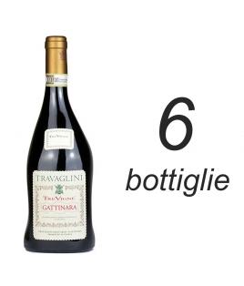 """6 BOTTIGLIE GATTINARA """"tre vigne"""""""