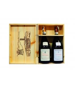 Cofanetto In legno Gattinara Travaglini 2 Bottiglie