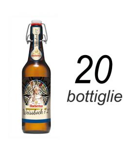 Nobertus hefeweizen bock scatola 20 bottiglie