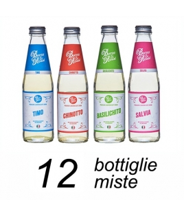 KIT SPRING Bibite BOREA & ROSSI Assortite chinotto/basilico/timo/salvia